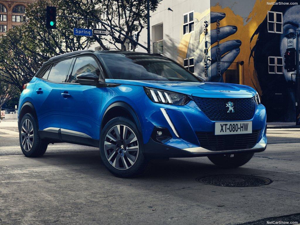 Peugeot e-2008 2020 design moderne