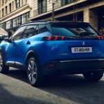 Peugeot e-2008 2020 coffre