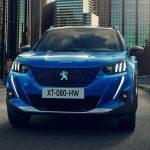 Peugeot e-2008 2020 face avant