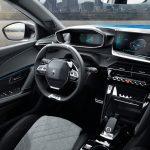 Peugeot e-2008 2020 planche de bord
