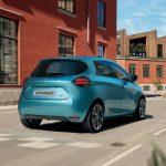 Renault ZOE 2020 vue arrière