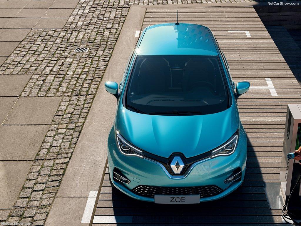 Renault ZOE 2020 face avant