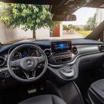 Mercedes EQV 2020 au volant