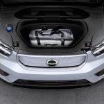Volvo XC40 Recharge 2020 coffre avant