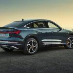 Audi e-tron Sportback 2021 coffre arrière