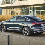 Audi e-tron Sportback 2021 vue arrière