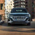 Audi e-tron Sportback 2021 face avant calandre