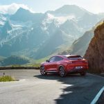 Ford Mustang Mach-E sur route