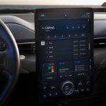 Ford Mustang Mach-E écran tactile centrale