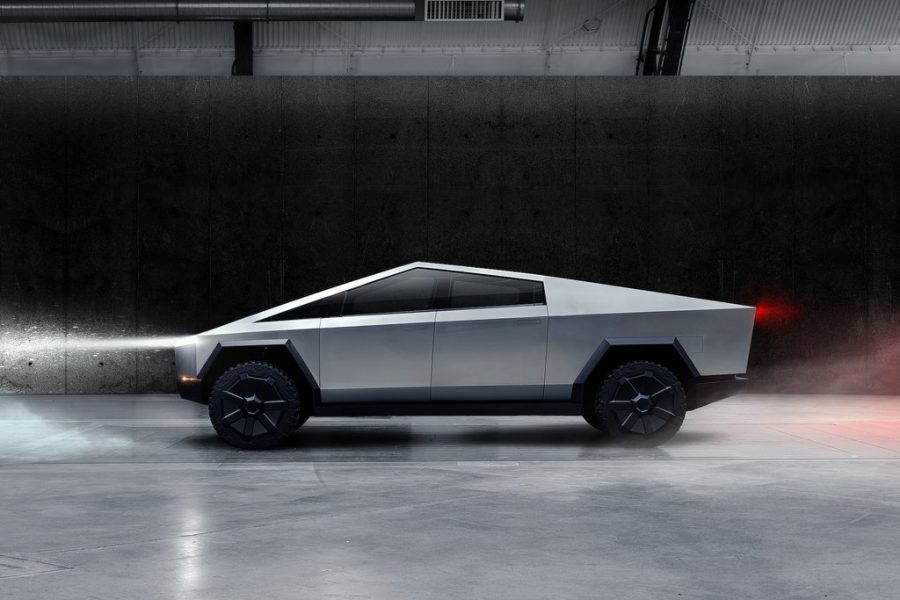 Tesla Cybertruck 2021 profile