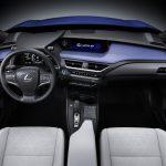 Lexus UX 300e console centrale