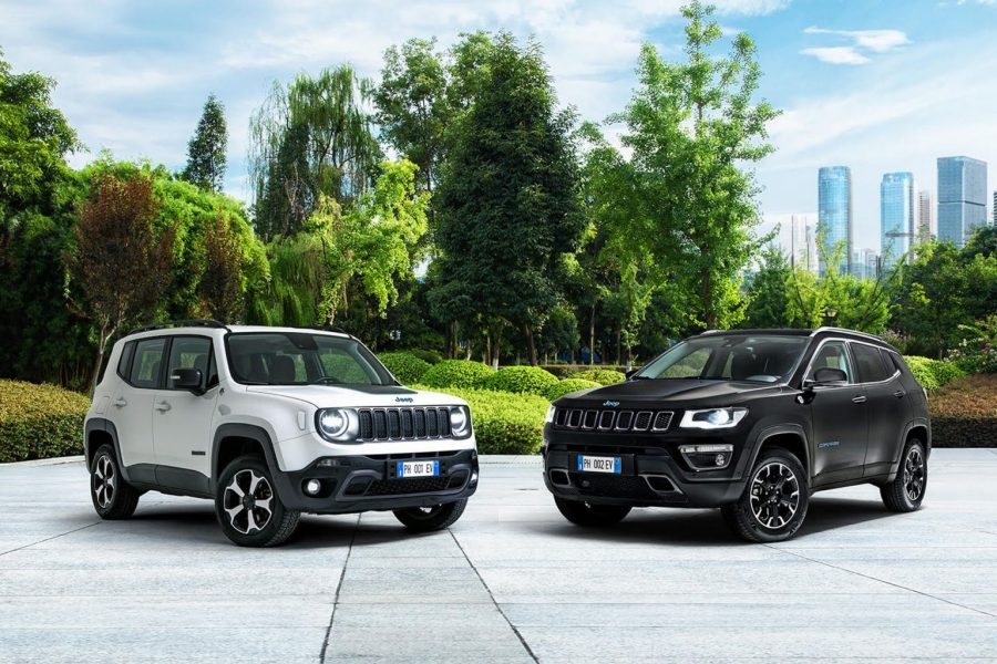 Jeep Renegade 4xe hybride rechargeable