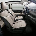 Fiat 500e 2021 sièges avant