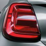 Fiat 500e 2021 feux arrière