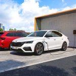 Skoda Octavia RS iV 2020 en charge