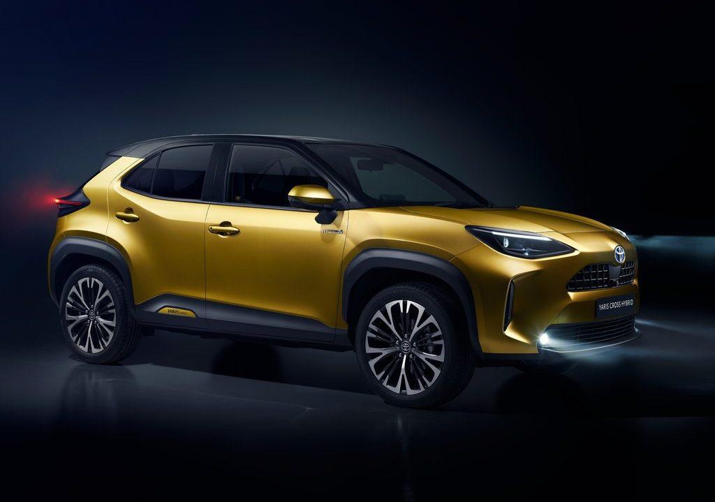 Toyota Yaris Cross 2021 profile