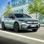 face avant Škoda Enyaq 2021