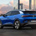 Volkswagen ID.4 2021 vue arrière