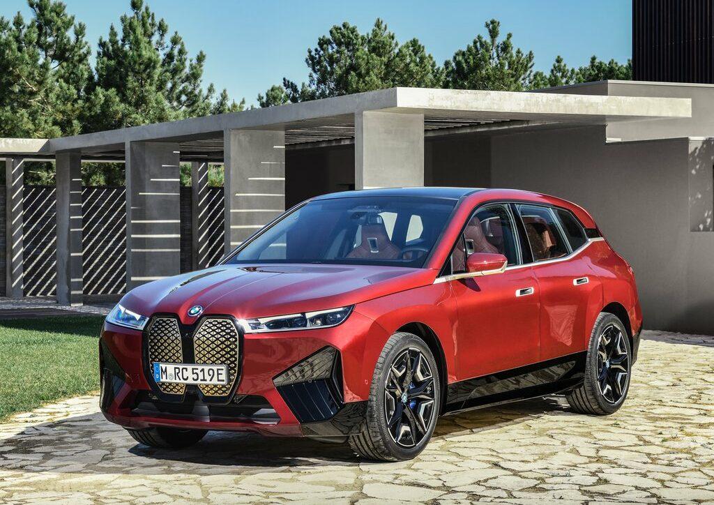 BMW iX 2021 électrique