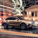 Bentley Bentayga Hybride 2021 de profil