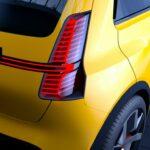 Renault 5 2021 vu arrière