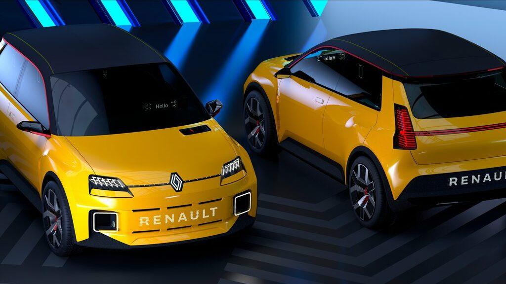 Renault 5 2021 100% électrique