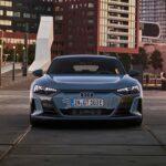 vue avant Audi e-tron GT 2022