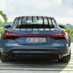 vue arrière Audi e-tron GT 2022