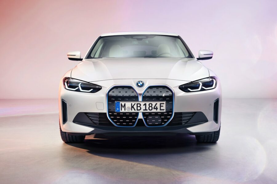 photos officielles BMW i4 2022