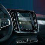 Volvo C40 2022 HABITACLE